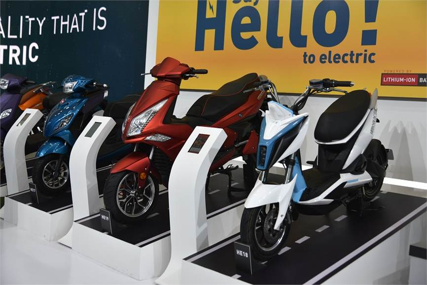 Electric two wheelers image