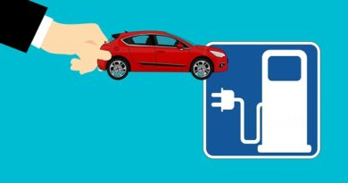 electric car and charging