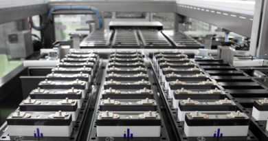 Lithium-ion battery manufacturing