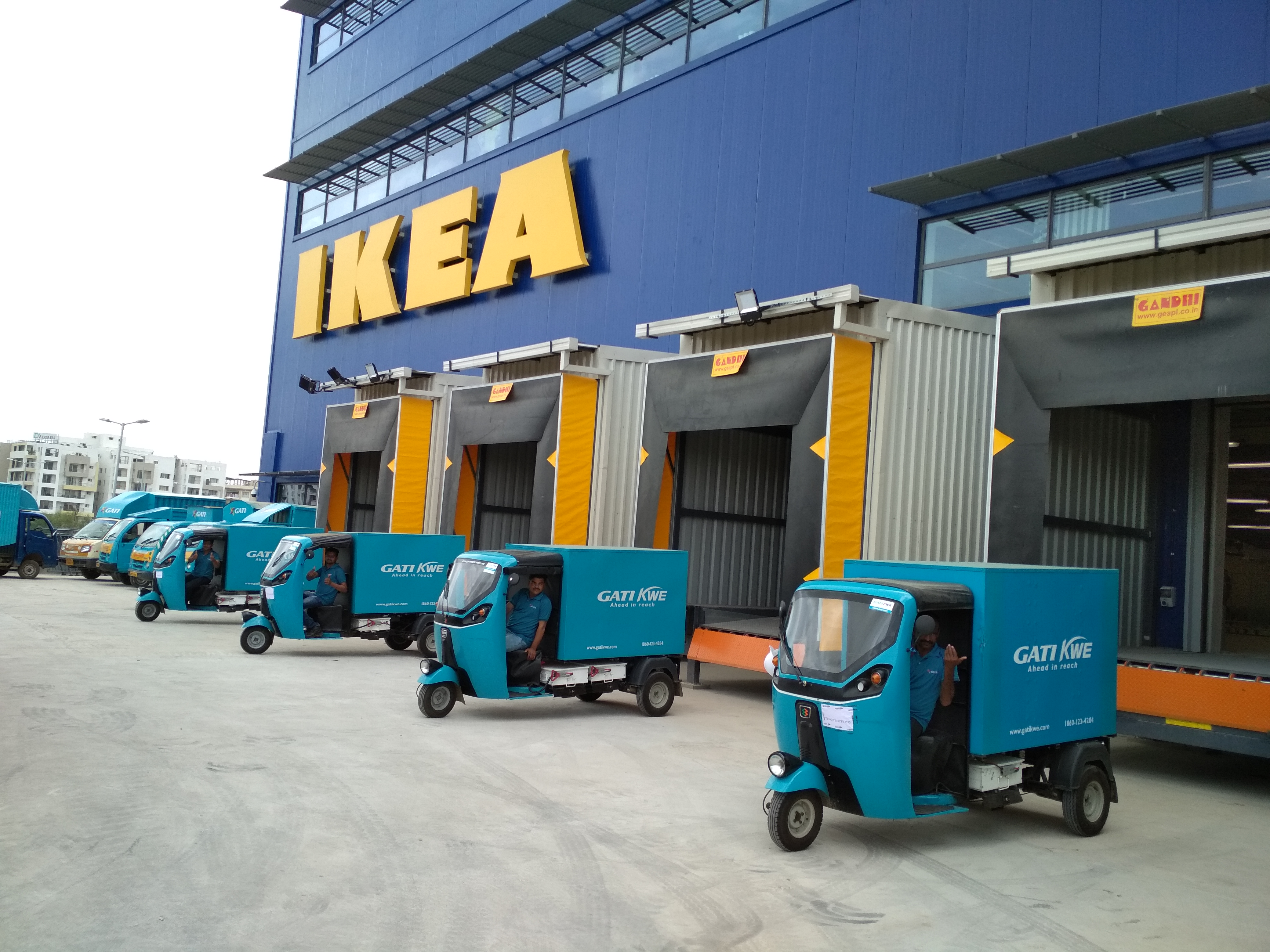 A case for last mile deliveries using EVs – feat. Gati and IKEA