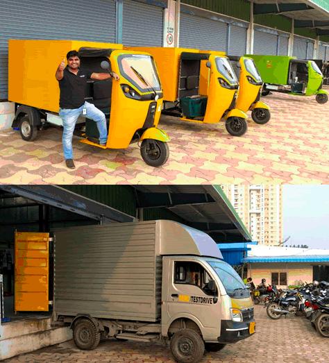 EVs for last mile deliveries