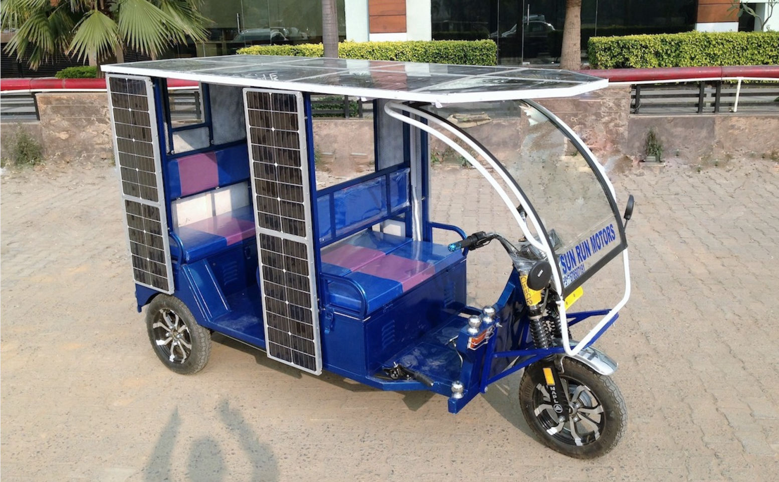 Solar-powered e-rickshaws – harnessing clean energy to empower India's mass-mobility