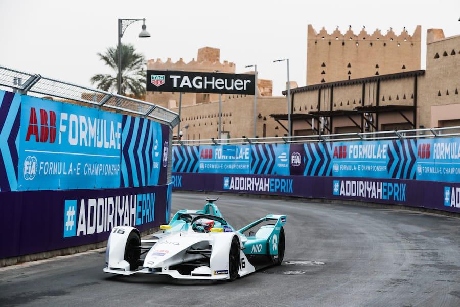 Formula E – Electric Cars race on the city street circuits