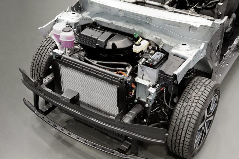 High Voltage electric car