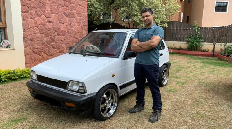 Retrofitted Maruti EV