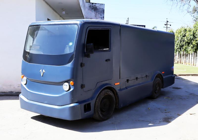 EVage electric delivery van